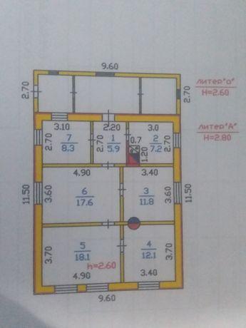 Продам дом. Шпальный, 67.9 кв.м.  с хоз. постройками . Баня, 2 гаража,