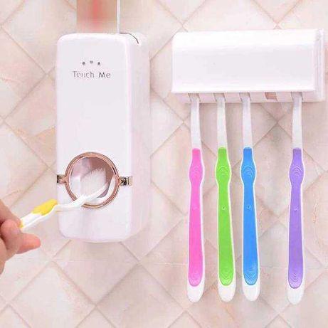 Дозатор для зубной пасты с держателем для щеток+963