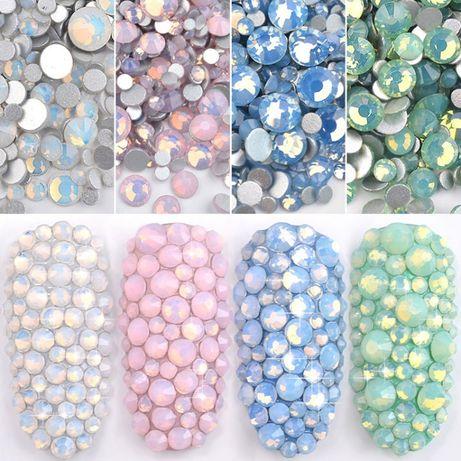 400 Опал 3д Сваровски камъчета, камъни за декорация на маникюр!
