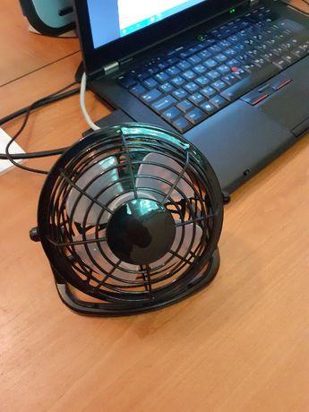 вентилатор настолен USB, тих и качествен, супер цена