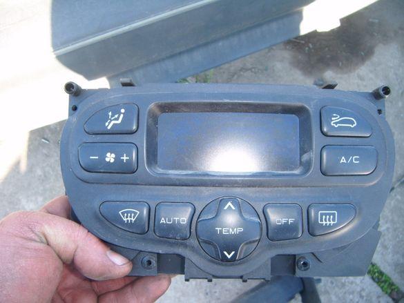 Панел с управление климатроник за Пежо 206 GTI 2.0 135к.с купе 2 врат