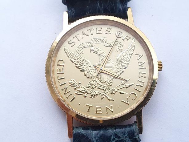 Ceas dama original USA Ten cu mecanism Swiss Eta 980.003