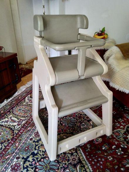 Детски стол за хранене и къпане Rubbermaid. Made in USA.