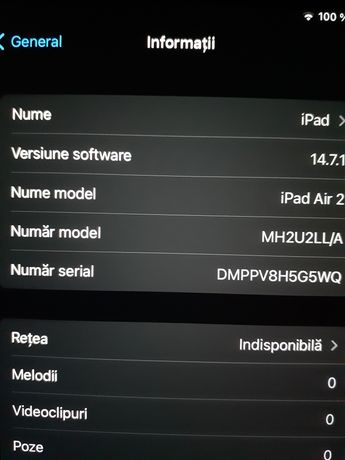 Tableta Apple.Airpad 2 / 16gb
