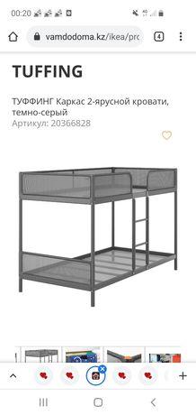 2ярусная кровать, б/у Икеа