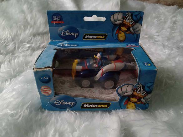 "Умален модел на автомобил ""МОТОРАМА""- DisneyDieCast Доналд Дък"