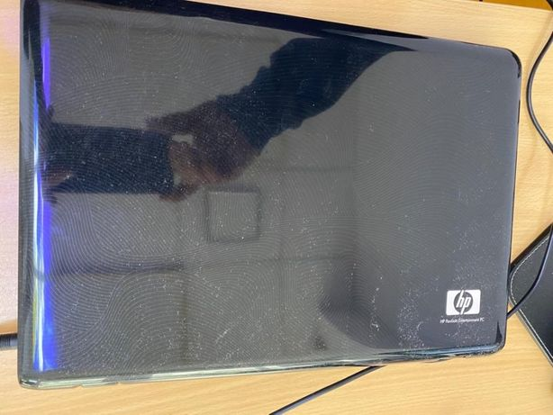 Laptop HP dv2000 black