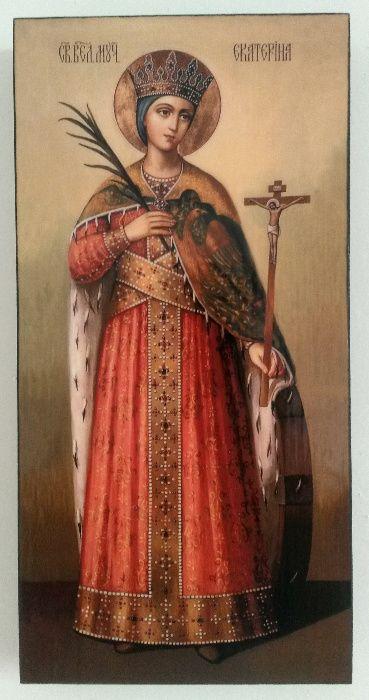 Икона на Света Екатерина icona Sveta Ekaterina