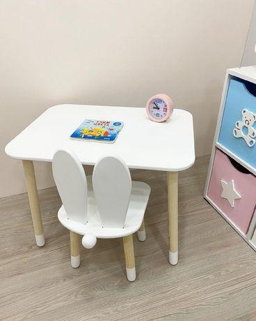 Детские столы стулья.