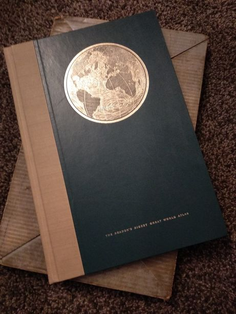 READER'S DIGEST - Great World Atlas - First Edition 1962