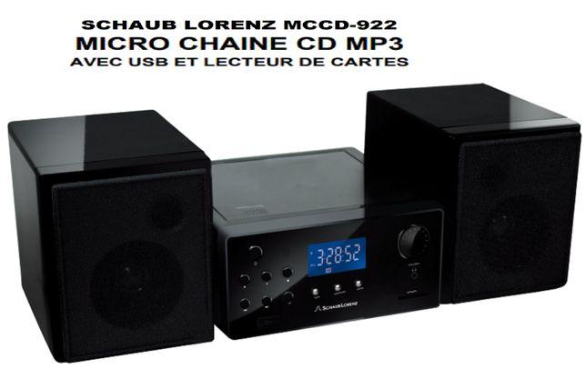 VAND MP3 player Schaub Lorenz MCCD 922