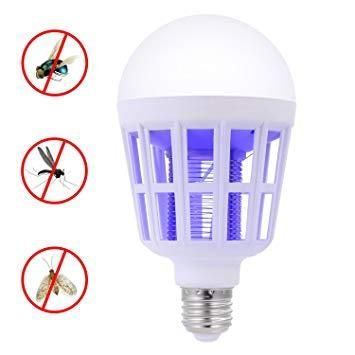 Capcana UV anti insecte + bec LED 15W