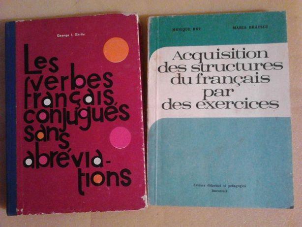 carti de gramatica limbii franceze, anii '70 - 12 lei/buc. sau schimb
