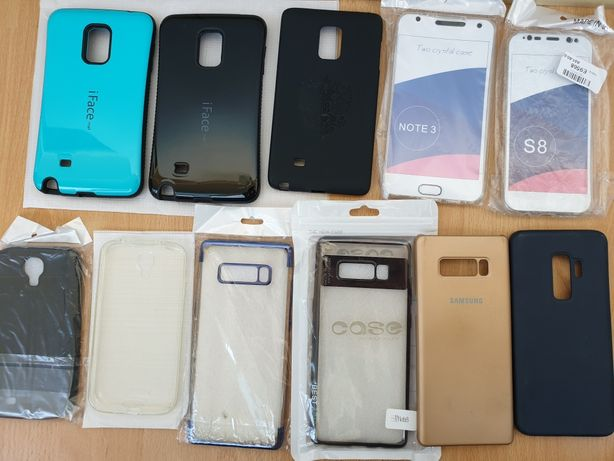 Huse telefoane Samsung Galaxy Note 8 3 4 Edge, S9+, S8, S4