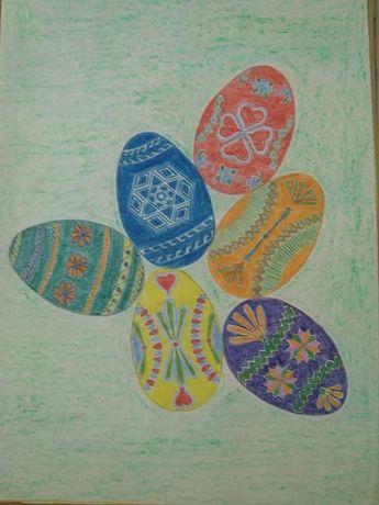 8 picturi/desene pe coli A4, didactice