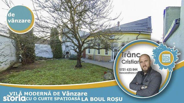 Vila spatioasa si moderna pentru intreaga familie la Boul Rosu