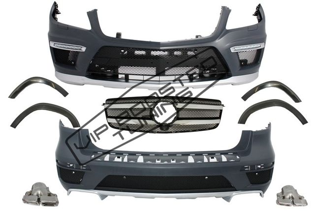 Kit Exterior Complet Mercedes GL-Class X166 (2012-up) GL63 Design
