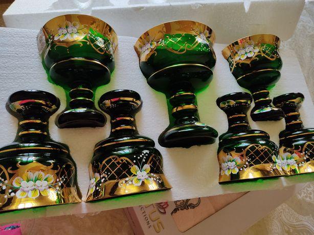 Посуда Богемия (набор ваз)