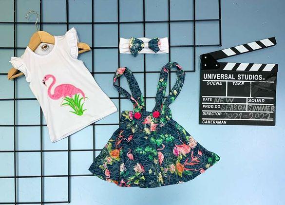 Лятна рокличка фламинго