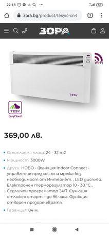 Стенен конвектор Tessy CN04 300 EIS Could W