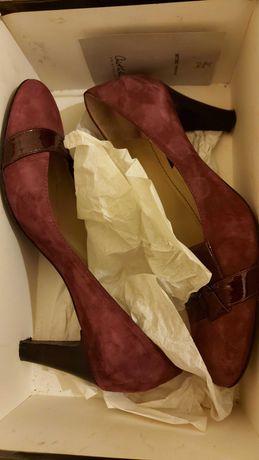 Дамски обувки Christhelen B., 39 номер, естествена кожа и велур