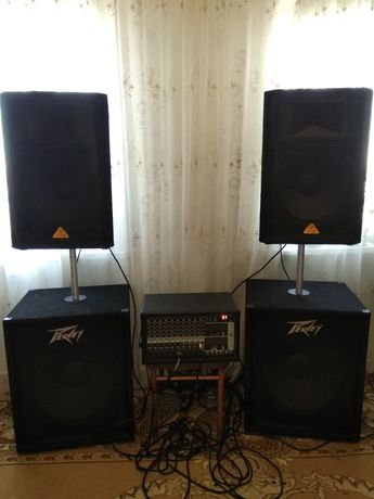 Продам.комплект звук.аппаратуры..