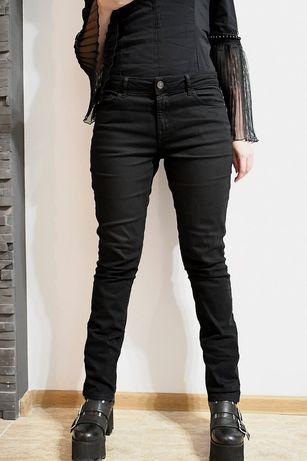 Blugi jeans pantaloni negri marime 38