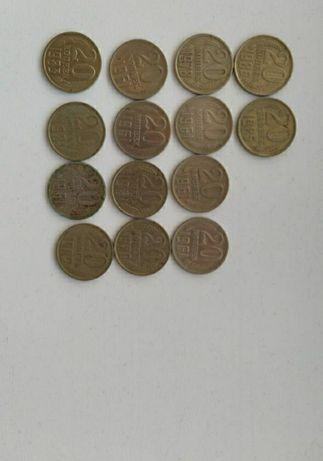 Продам монеты . СССР . Много разных.