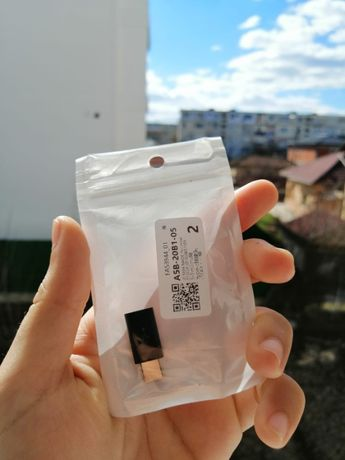 Adaptor original Samsung, convertor Type-C la Micro-USB, negru