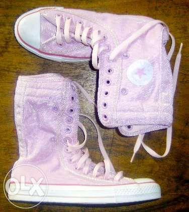 OCAZIE ghete Converse ALL STARS originale 3.5 36 - 36.5 roz inalte