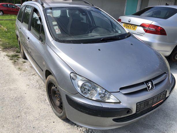 Dezmembrez Peugeot 307 2.0 HDI 136 CP