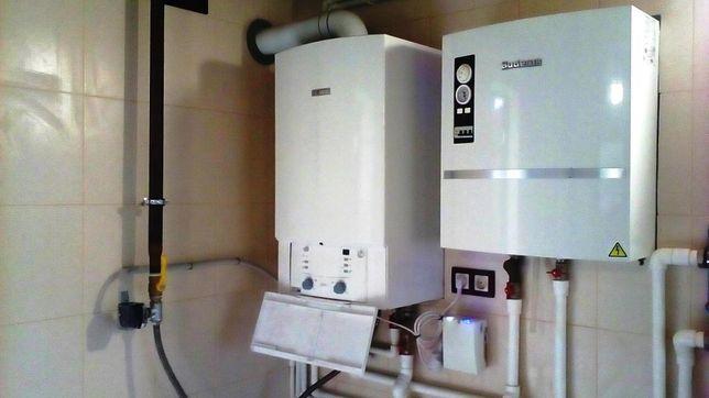 Запуск газовых котлов отопления. Настройка. Ремонт