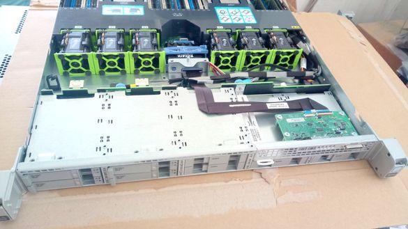 Сървър Cisco UCS C220 M4 2*E5-2673v3 12C 2.4/3.3GHz 128GB MRAID12G/2G