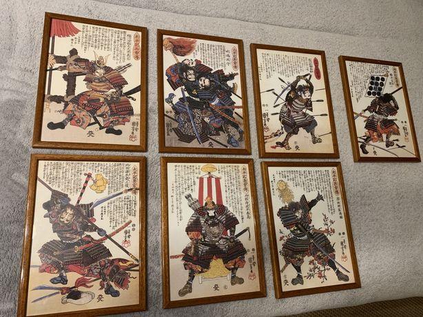 Tablouri samurai Utagawa Kuniyoshi