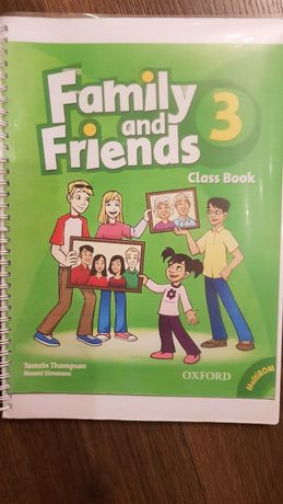 Family and friends class book 3