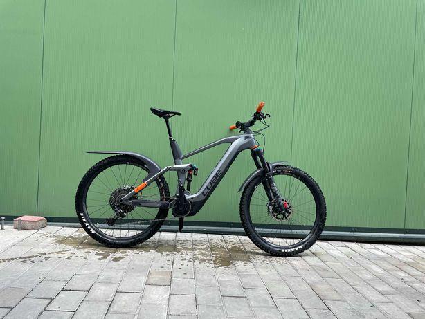 Bicicleta electrica full suspension CUBE
