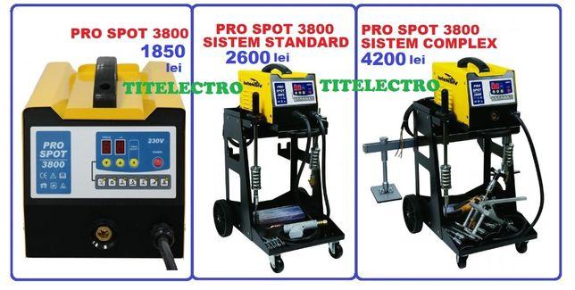PRO SPOT 3800 - Aparat tras (indreptat) tabla/tinichigerie, 3 variante
