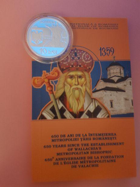 10 lei 2009 - 650 de ani de la întemeierea Mitropoliei Ţării Româneşti