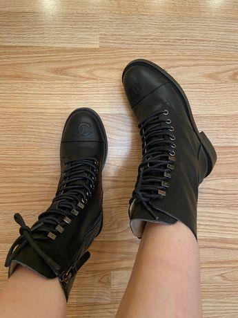 """Ботинки осенние «Chanel"""""""