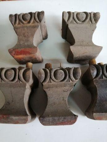 Picioare mobilier vechi