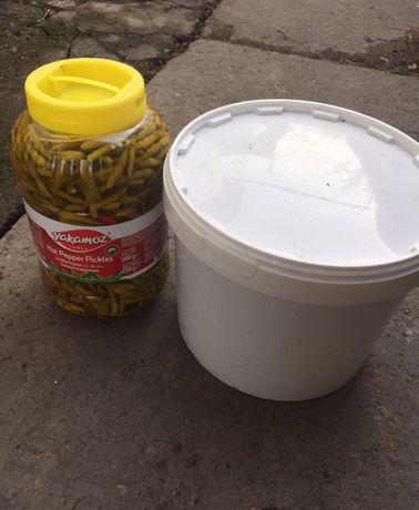 Перчики острые ,перец для донера и упаковочная бумага крафт