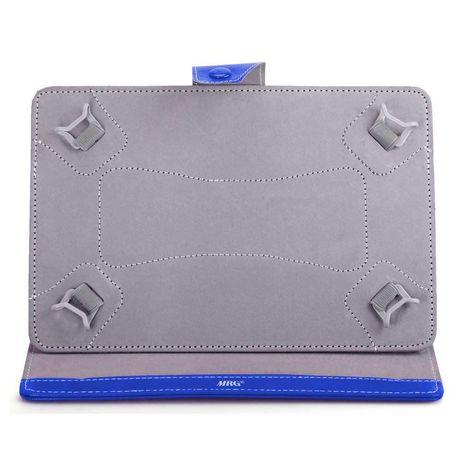 Husa tableta , 10 inch, Tip mapa, Prindere 4 cleme, Albastru C570