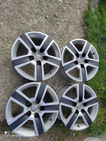 4 Jante originale Audi; 7JxR16; ET 42; 5x112