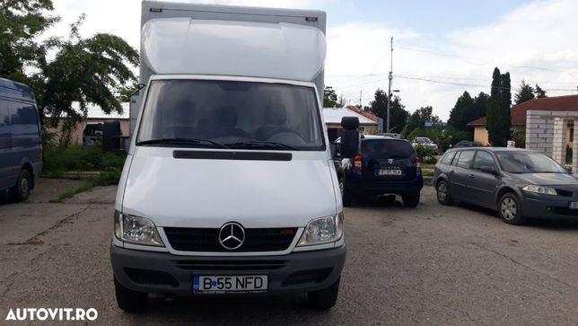 Mercedes-Benz SPRINTER Autoutilitara carosata recent inmatriculata, nerulata pe Romania