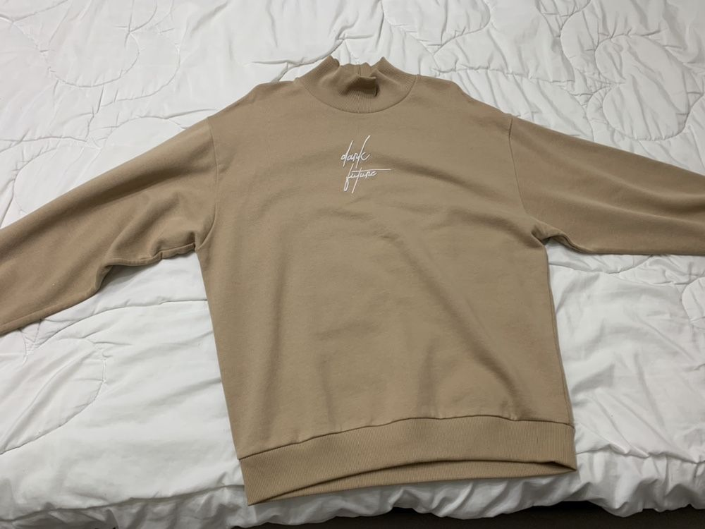 Crewneck Oversized Sweatshirt ASOS Dark Future (XS)