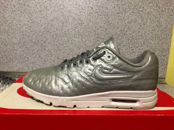 ОРИГИНАЛНИ *** Nike Air Max 1 Ultra Premium Jacquard / Metalic Silver