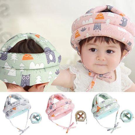 Защитный противоударный шлем для малышей