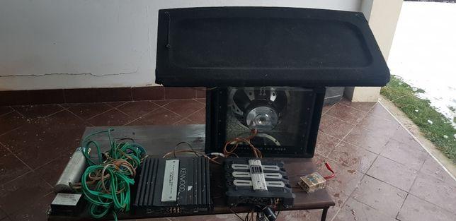 Sistem audio statie cabluri boxe golf 4