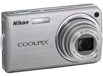 Aparat foto digital Nikon S550 gri