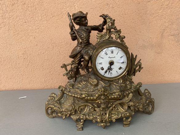 Френски бароков часовник  1850 г regnault  a paris
